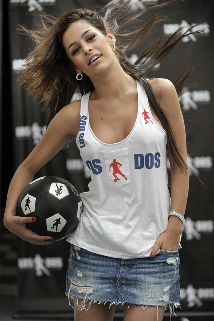 Meet World Cup's hottest fan