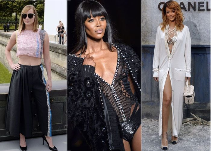 Paris Haute Couture: Celebrities at their fashionable best