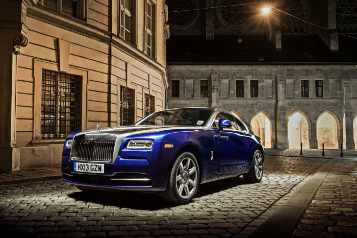 Stunning new images of the Rolls-Royce Wraith shot in Vienna