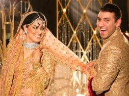 Photo : Band Baajaa Bride: Kashmiri bride and Videshi Indian groom wed in grandeur