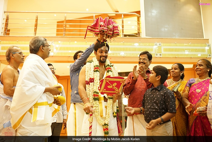 Sneha And Aswath Tie The Knot In An Elaborate Tam-Brahm Wedding Ceremony