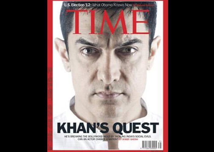 Indian faces on Time Magazine cover