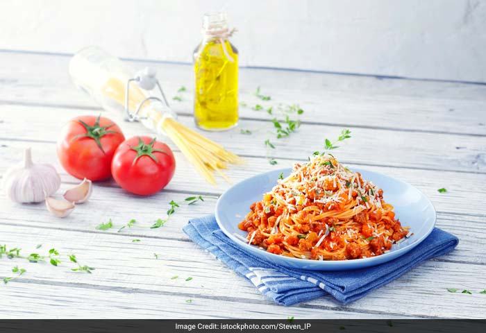 Pasta: Tomatoes, even though usually cooked in savoury dishes, are classified under fruits! So when you have your pasta next, you can also call it a fruit salad! But one that is warm!