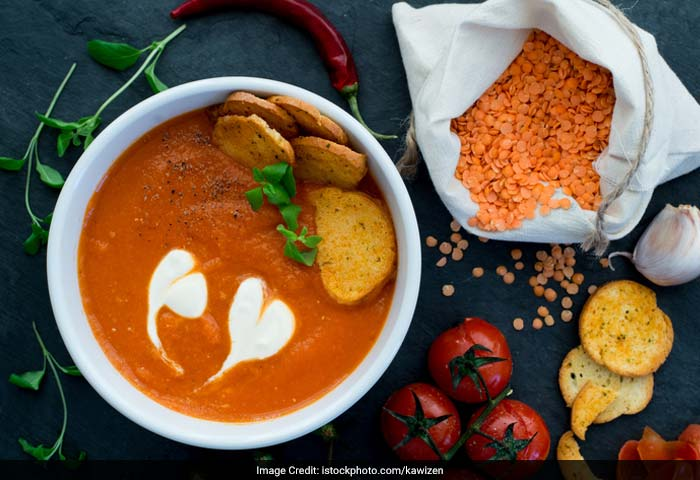 Soup: Tomatoes are really, really good for your heart -so have some warm and cheesy tomato soup for not just some warmth but also to keep your heart healthy and strong!