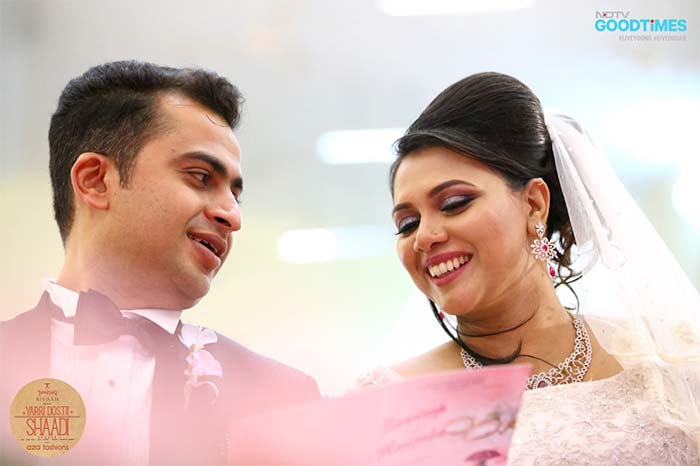 Christian, Telugu, Punjabi, this wedding is a mix of all cultures!