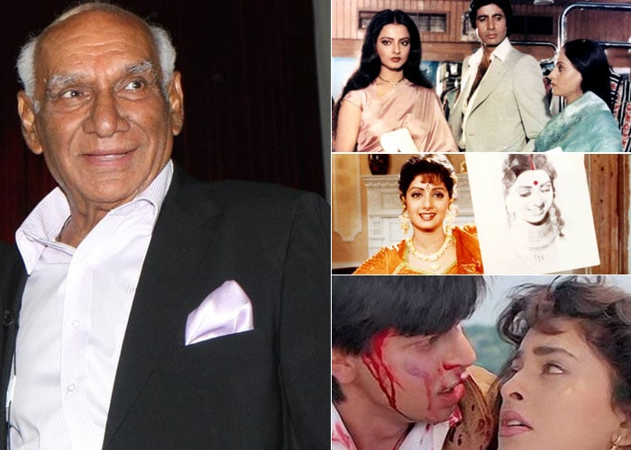 The magical years of Yash Chopra