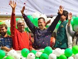 Photo : Aam Aadmi Party Sweeps Delhi