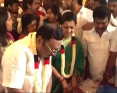 Photo : Suspended DMK leader MK Alagiri celebrates his 63rd birthday