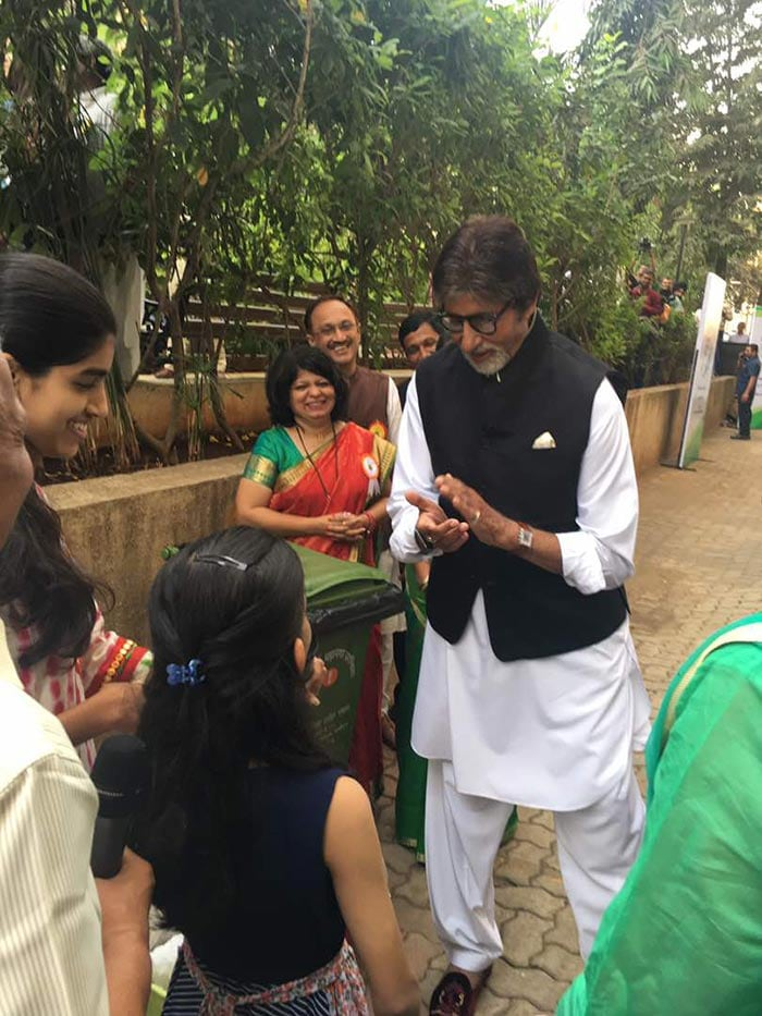Mr Bachchan believes children are great influencers and have the power to bring about social change. This is why he proposed that,