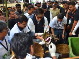 Photo : 5 Quotes By Amitabh Bachchan At The #MahaCleanathon
