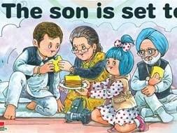 Photo : Son rise: Amul toasts Rahul Gandhi