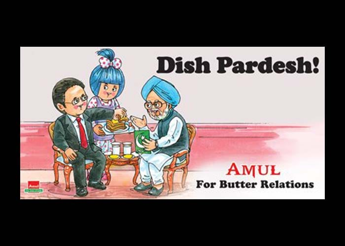 Amul toasts Prime Minister Manmohan Singh on his 80th birthday