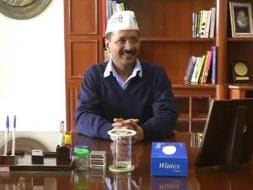 Photo : Arvind Kejriwal's First Day at Work
