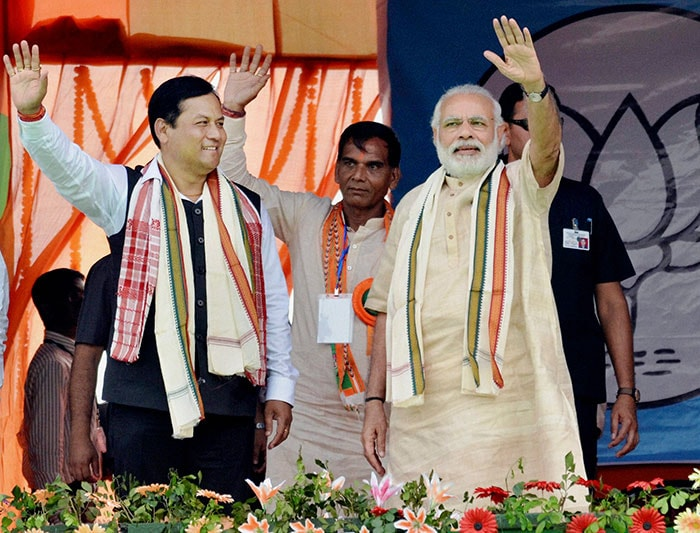 Assembly Elections: BJP, Congress Slug It Out In Assam