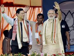 Photo : Assembly Elections: BJP, Congress Slug It Out In Assam