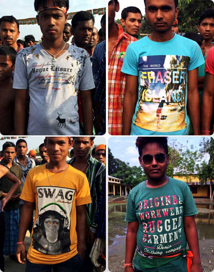 T-Shirts At An Assam Election Rally Say A Lot. Take A Look