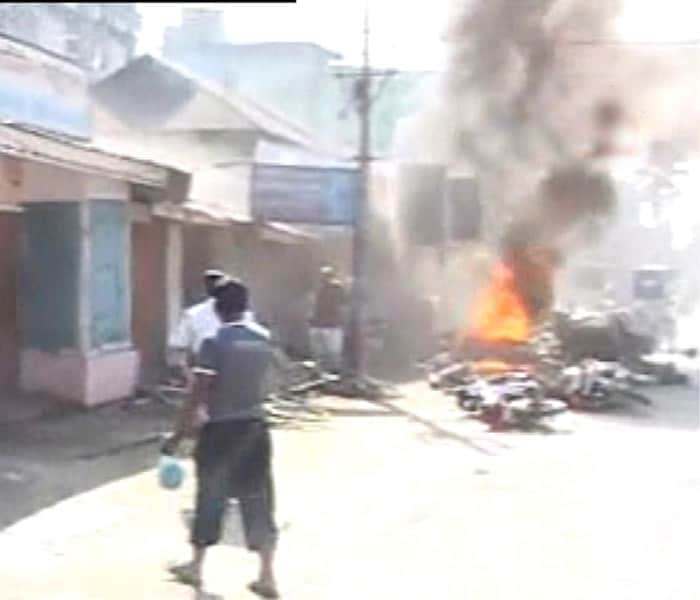 Twin blasts rock Assam