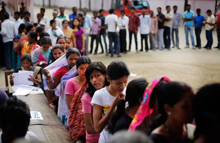 Phase 1 polling ends, 72.5% turnout in Assam
