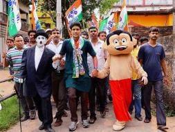 Photo : On Election Campaign, Chhota Bheem, Bodo Dance
