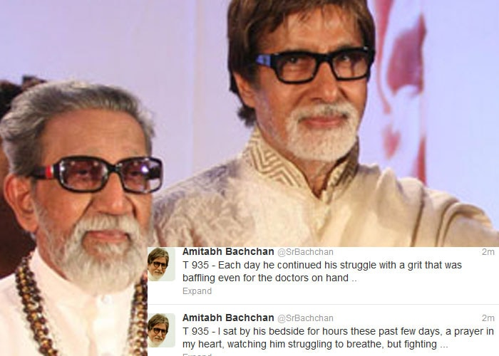 RIP Bal Thackeray, tweets India