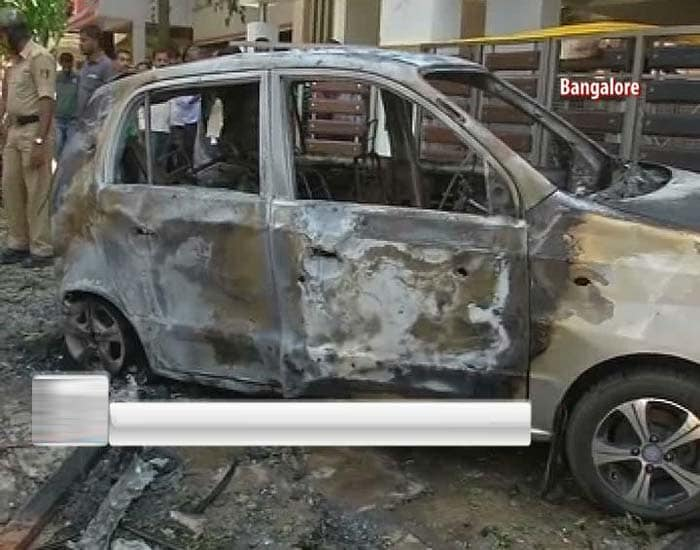 Explosion near BJP office in Bangalore