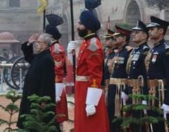 Photo : The beating retreat: Republic Day celebrations end