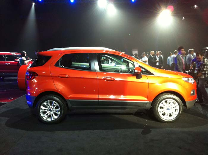 Ford EcoSport makes global debut at Beijing Motor Show