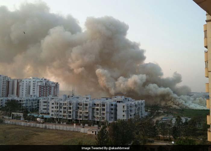 This Lake In Bengaluru Caught Fire Twice in Three days