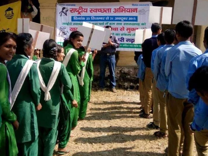 Following these, various awareness programmes were conducted at schools, encouraging students to use toilets and not defecate in the open.