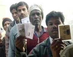 Photo : Chhattisgarh votes in phase one of Assembly elections