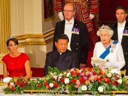 Photo : Chinese President Xi Jinping Meets Queen Elizabeth II