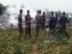 Photo : Nine dead as two IAF helicopters collide