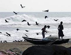 Photo : Cyclone Phailin: Odisha on high alert