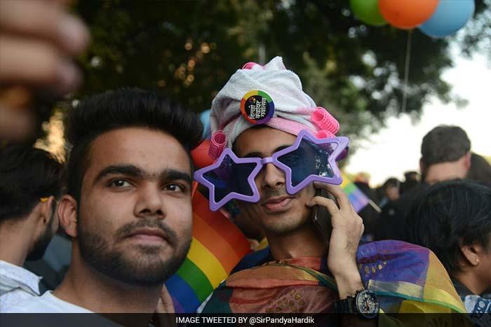 Hundreds March In Delhi Queer Pride Parade