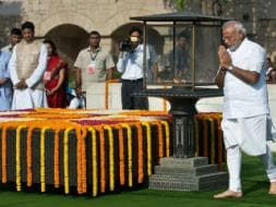 Photo : Prime Minister Modi's Morning at Rajghat