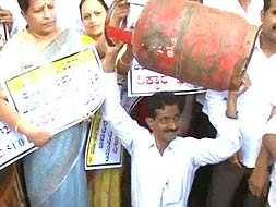 Photo : Diesel price hike: Protests across the country