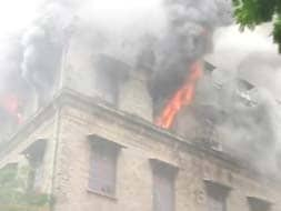 Photo : Fire breaks out in Mumbai government building