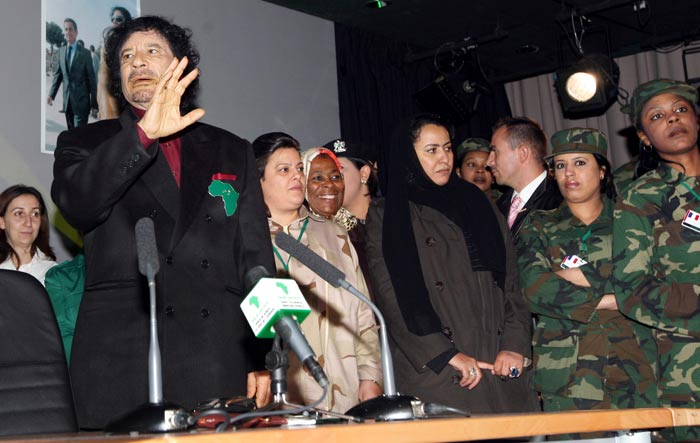 Gaddafi's female bodyguards