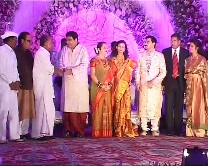 Nitin Gadkari Wedding Nitin Gadkari\'s Son\'s
