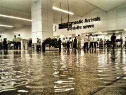 Photo : Heavy rains in Delhi, airport flooded