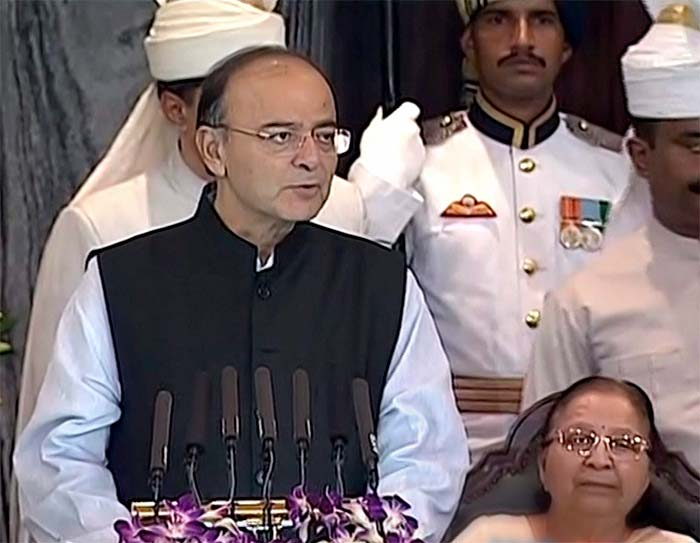 Union Finance Minister Arun Jaitley gave the opening address at the event.