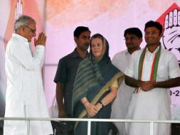 Photo : Politicians Hit the Campaign Trail for High-Stakes Haryana Elections
