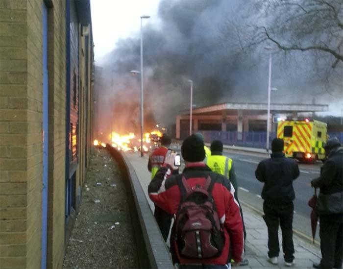 London helicopter crash