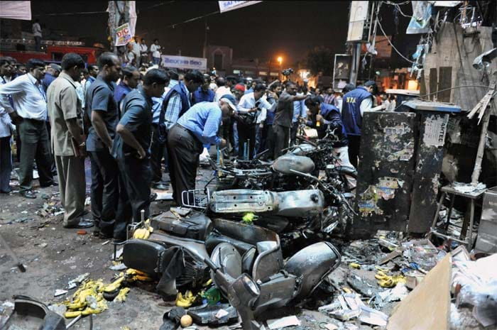Bomb blasts in Hyderabad