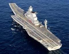 Photo : India's biggest ship, aircraft carrier INS Vikramaditya, finally arrives