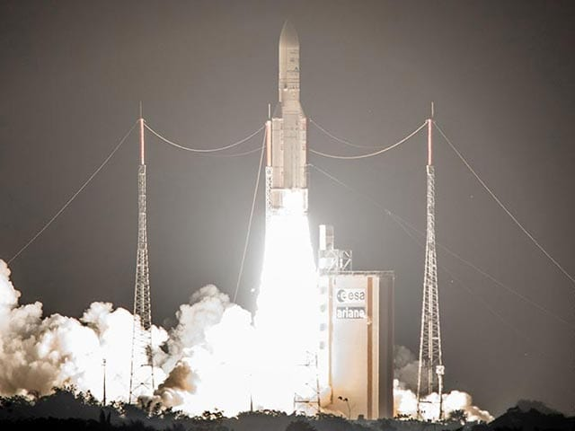 Photo : First Pics: India's Latest Communications Satellite GSAT-15 Successfully Launched