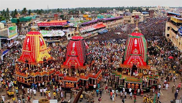 The zeal of devotees who participated in the Rath Yatra remained undeterred by the downpour in Puri.