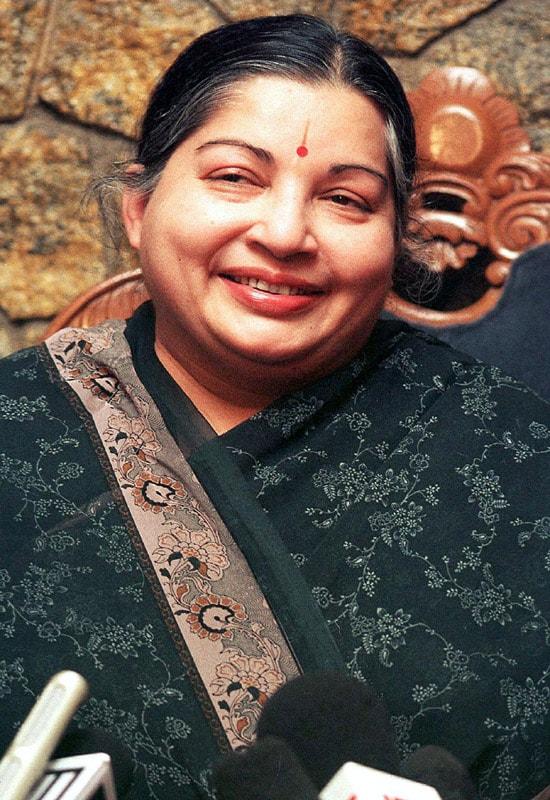 In pics: Jayalalithaa