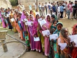 Photo : In Jharkhand, 13 Maoist Affected Seats Vote Amid High Security