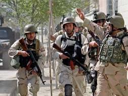 Photo : Multiple attacks across Kabul